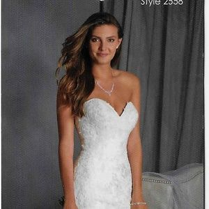 2558 Alfred Angelo Wedding dress